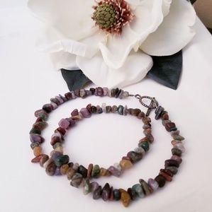 Strung Stones Necklace